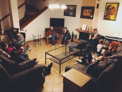 Our Community Group meets every Wednesday for dinner and a group discussion about the previous Sunday's sermon.