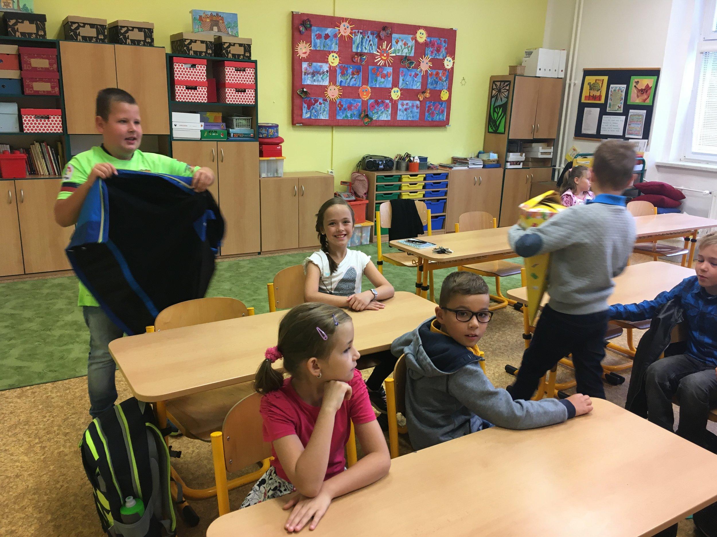 Addey's 2nd grade class