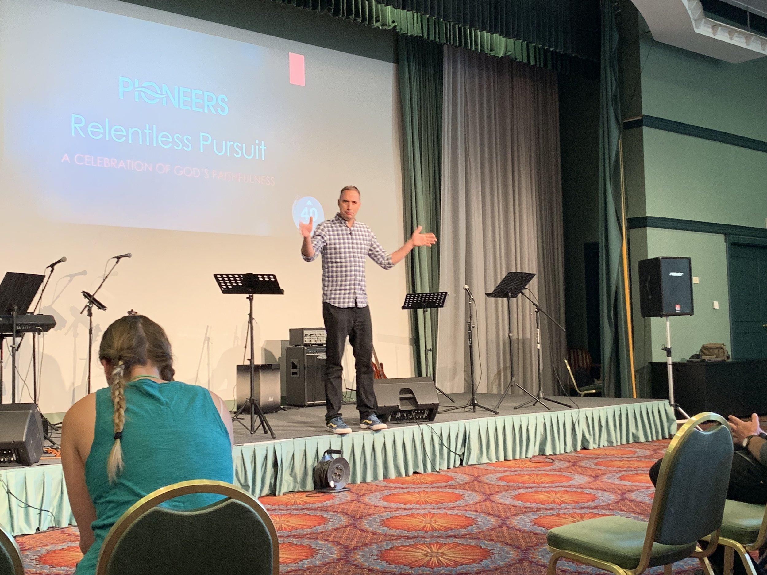 Hearing Mark Oshman preach again was a treat