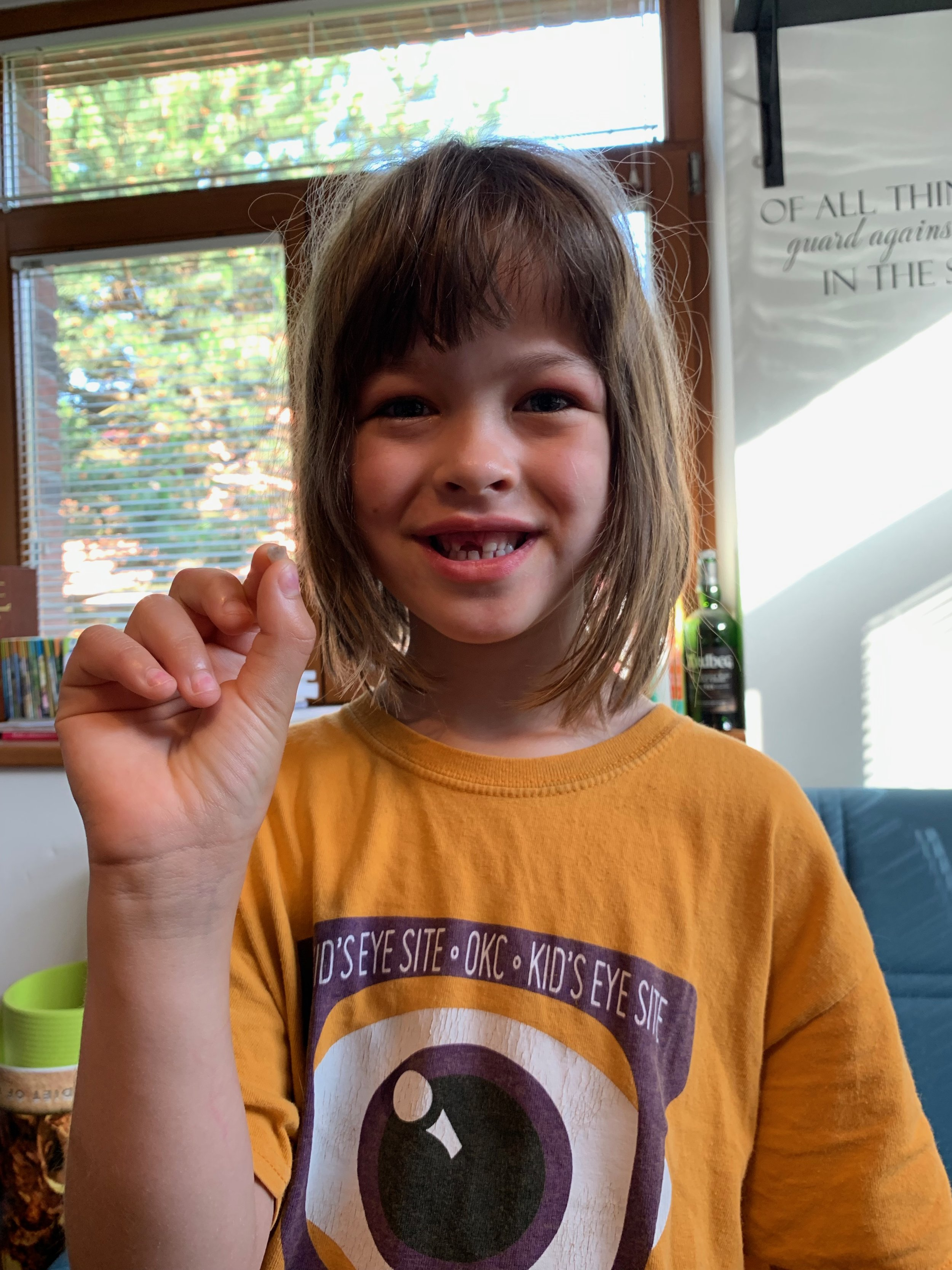 Nora's been losing teeth left and right, and also bankrupting the tooth fairy.
