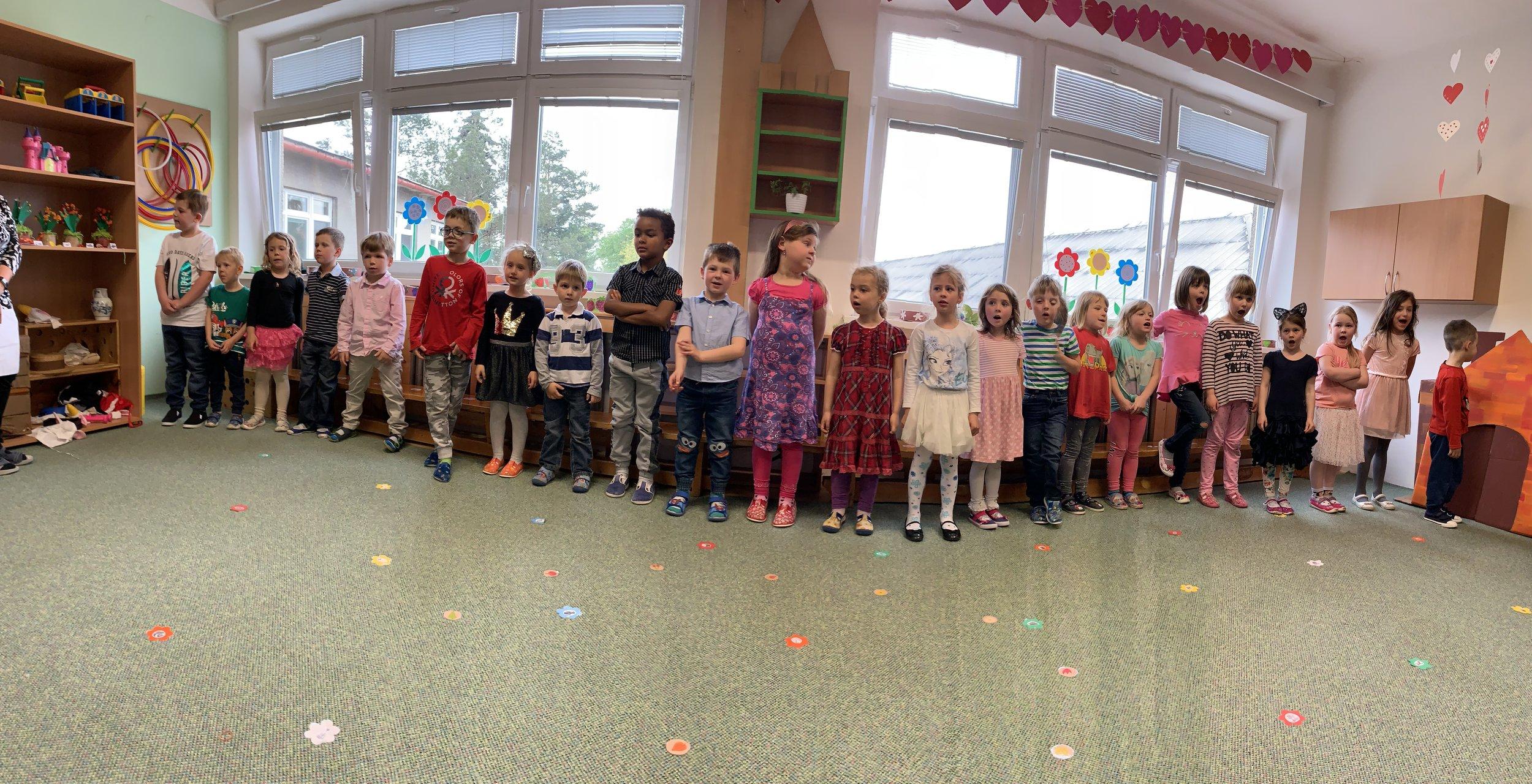 Nora's Školka class