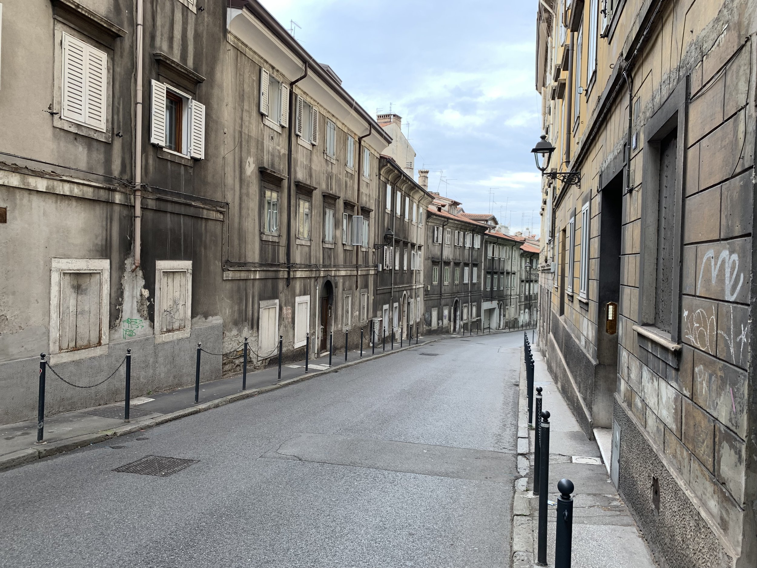 Most cities looked gray and bare like this during the communist years