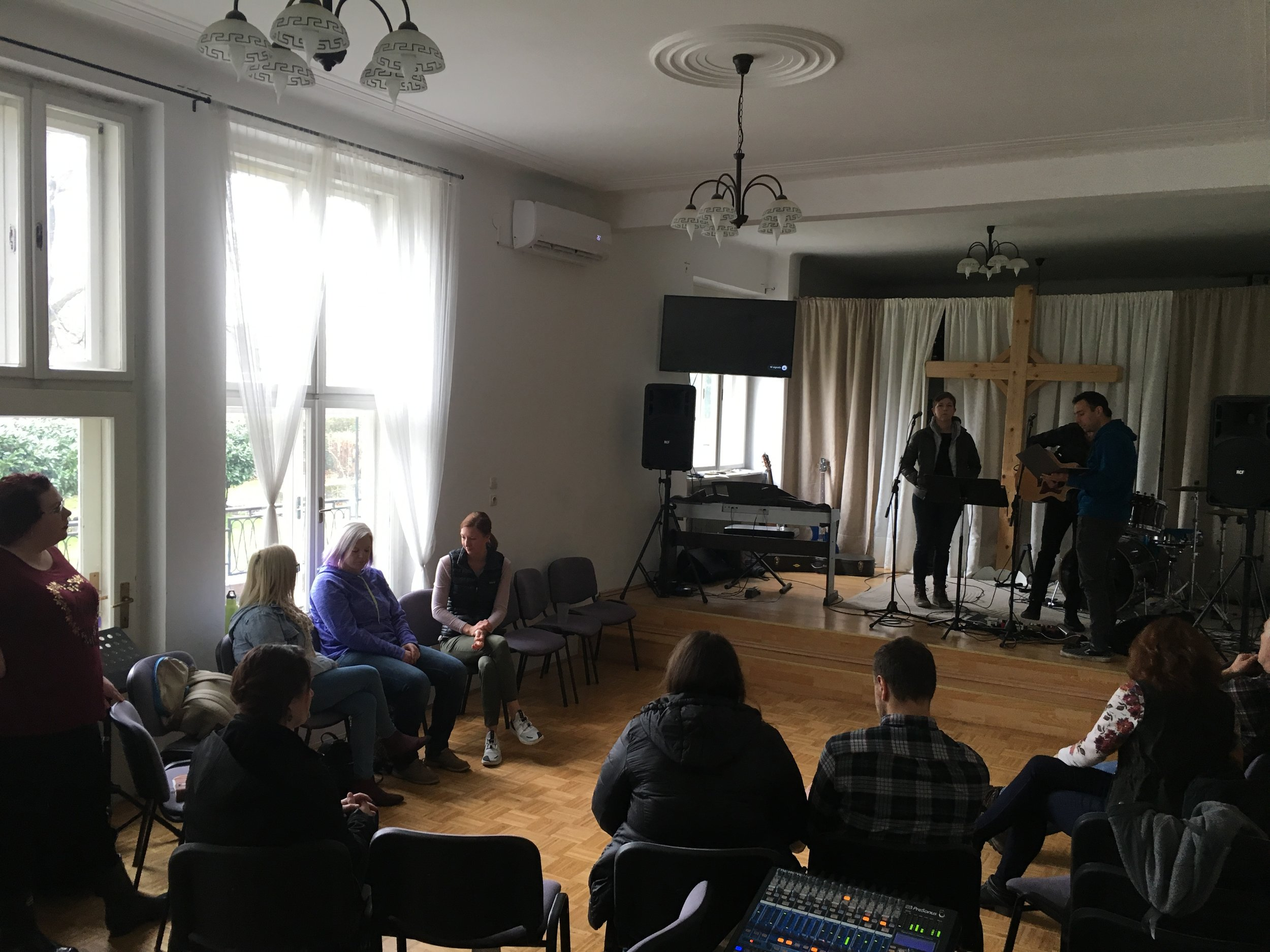 The week with the Bridgeway team and Celje church was incredibly encouraging
