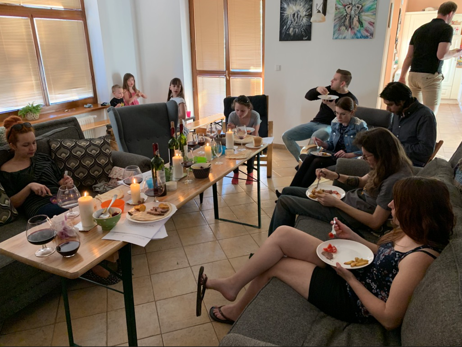 We had a Gospel focused Passover meal for Good Friday. It's amazing to see how the details of the ancient celebration meal points to Jesus in every way!