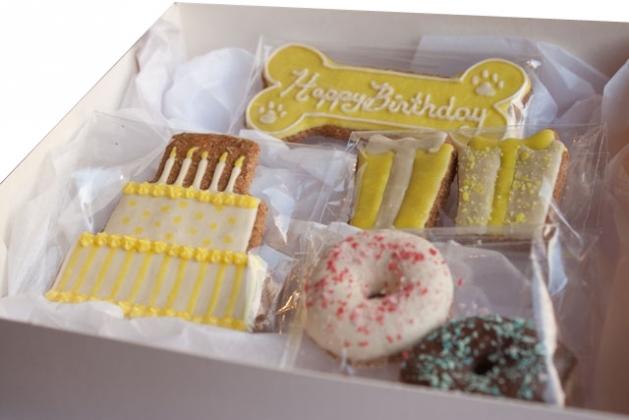 Cheeky Dog Bakery - Birthday Gift Box