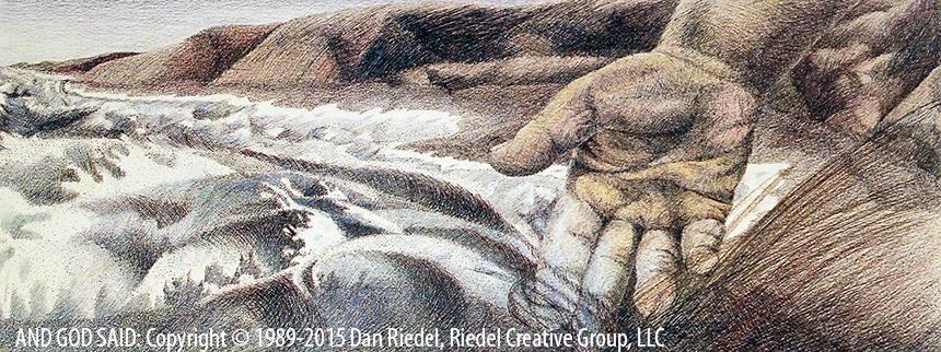 WATERS & DRY LAND - Genesis 1:9