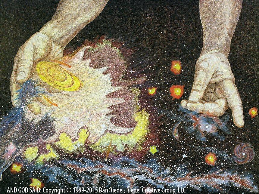 LIGHTS IN THE HEAVENS - Genesis 1:14