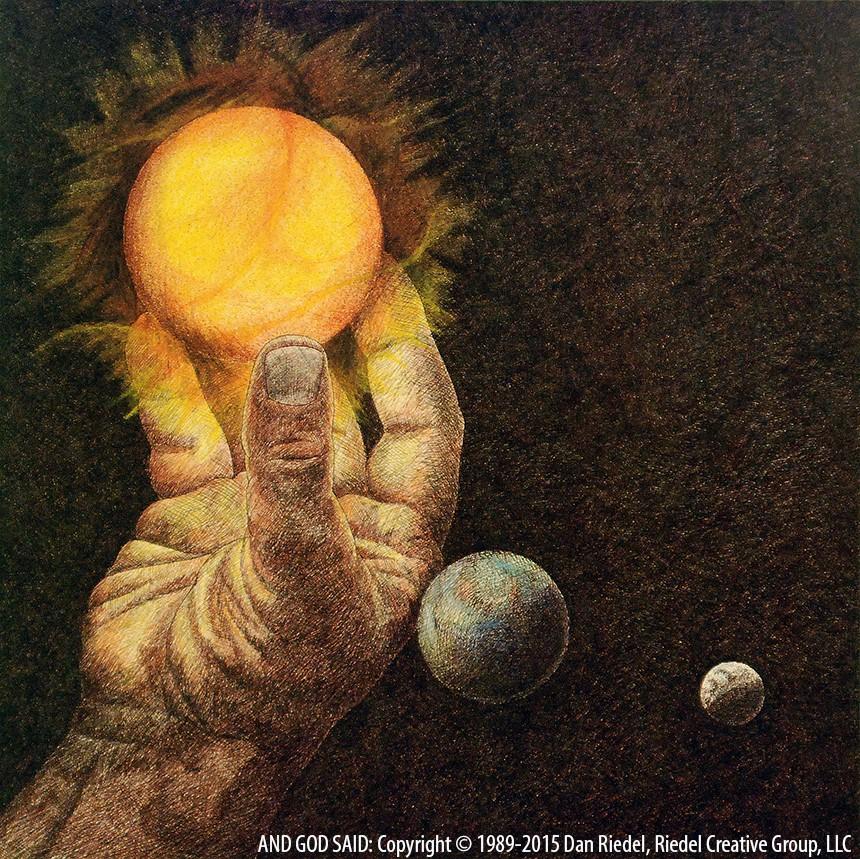 SUN & MOON - Genesis 1:16