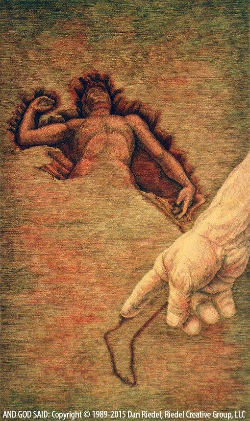 GOD FORMS MAN - Genesis 1:26-28