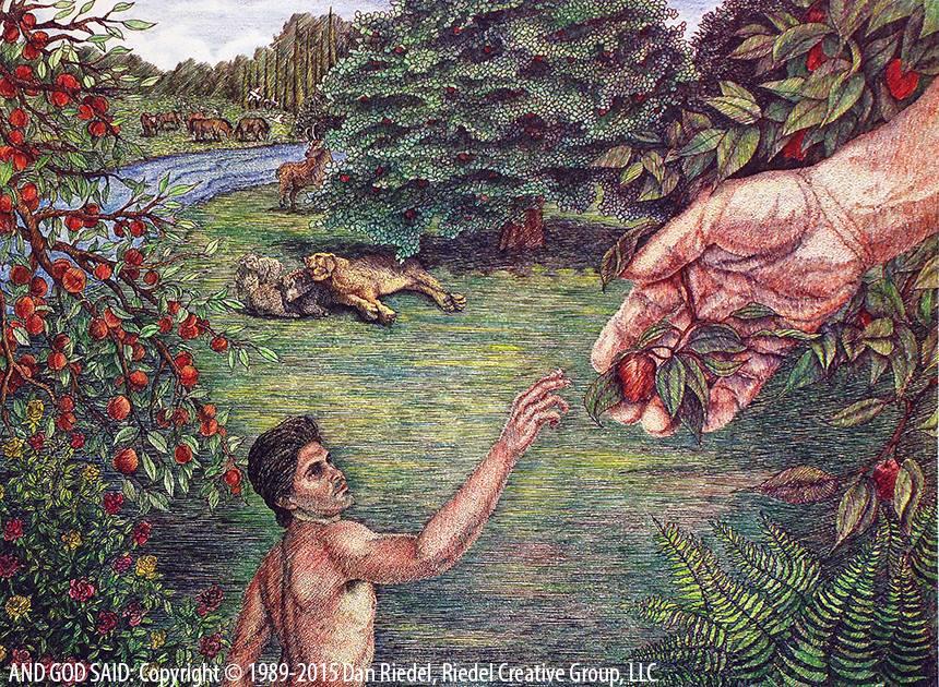 THE KNOWLEDGE OF GOOD & EVIL - Genesis 2:16-17