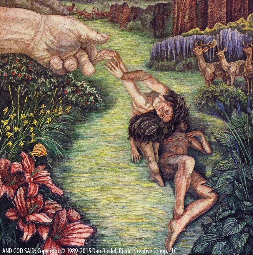 GOD FORMS A WOMAN - Genesis 2:22