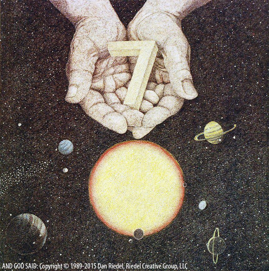 DAY 7 - Genesis 2:3