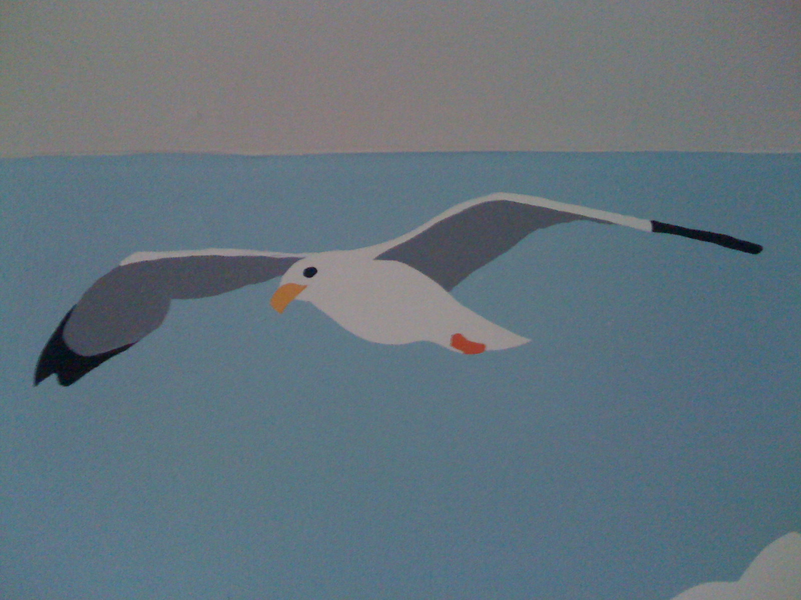 Detail of Seagull