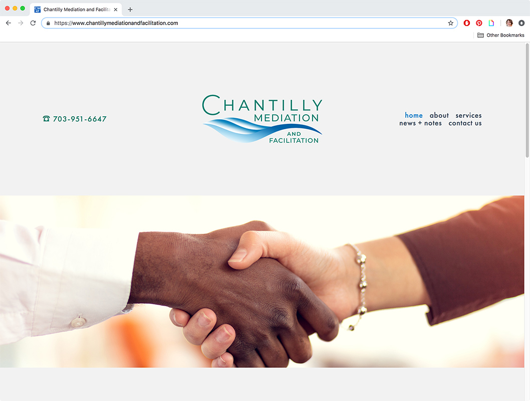 Chantilly Mediation and Facilitation website