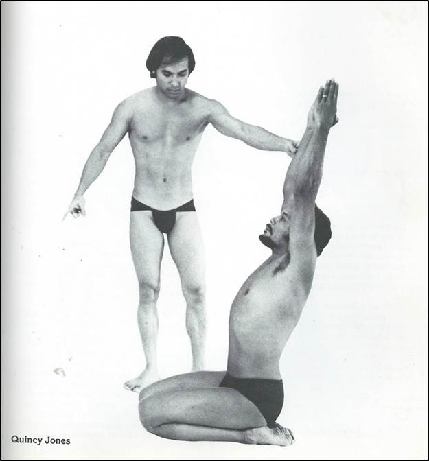 Choudhury instructing Jones.