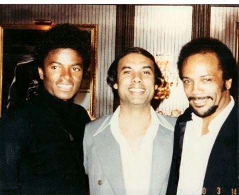 Michael Jackson, Bikram Choudhury, Quincy Jones