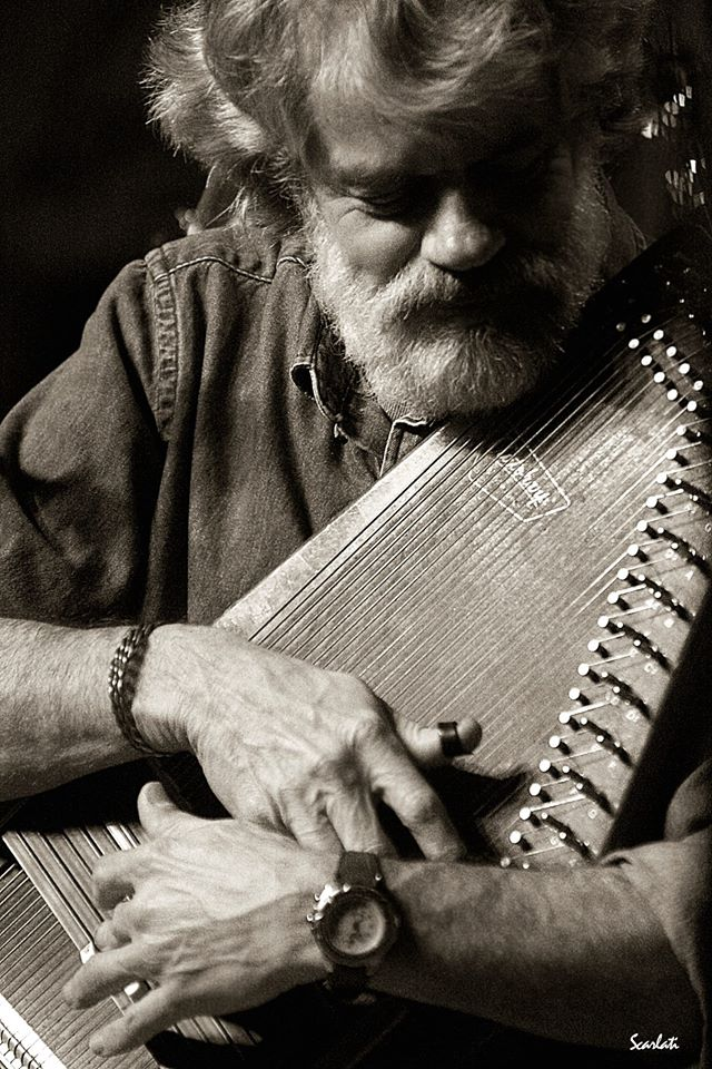 """Gove Scrivenor is an American  singer , songwriter , and  musician . Scrivenor is an  autoharp player, and includes the instrument in many of his songs. He plays predominantly country and folk music.  Gove moved to  Nashville in the early 70s after a four-year stint as a submarine sonar technician in the Navy. This move proved to be a wise one, as he was signed by the largest music publishing company in the world, Acuff-Rose . Wesley Rose saw in Gove the qualities that his struggling TRX record label needed, and Gove was soon signed to a recording contract as well as a songwriter agreement. Things began to happen. Scrivenor signed a management and booking deal with the Don Light Talent Agency in Nashville. During his years with Don Light, Gove toured with fellow agency artists  Delbert McClinton , Jimmy Buffet and the Original Coral Reefer Band.  These successes opened many doors and he was soon performing two years in succession on the popular PBS series """"Austin City Limits"""" with  Doc Watson and The Amazing Rhythm Aces. He played the character of Daniel Boone on the National Geographic Recording written by  Billy Ed Wheeler titled """"Cumberland Gap"""". Gove was often called for jingle work as well, including the early Opryland campaigns for TV and Busch Beer. When looking for expressive and uncommon sounds, Dolly Parton , Neil Young , Dan Seals , Hank Williams, Jr. , Iris Dement and  Glen Campbell all turned to the evocative sound of Gove Scrivenor's autoharp.  When Gove released early albums on Flying Fish Records, his friends Doc Watson, John Hartford, Marty Stuart, Buddy Emmons, Ben Keith (Neil Young), and Dave """"Please Come To Boston"""" Loggins all lined up to contribute to his recordings. These two albums were re-issued by Rounder Records (Flying Fish) in 1999 as a compilation titled  Solid Gove . He was joined by John Prine, Nanci Griffith, Lari White, and Guthrie Trapp for his first Compass Records release  Shine On , a collection of five self-penned and selected f"""