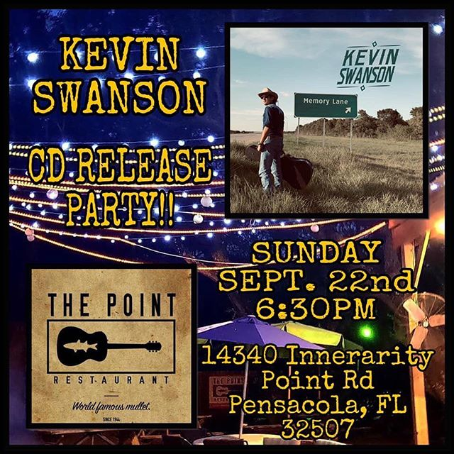 Come on out to The Point to celebrate Kevin's CD Release Party 6:30pm in the Courtyard✨✨✨ Tomorrow/Sunday!