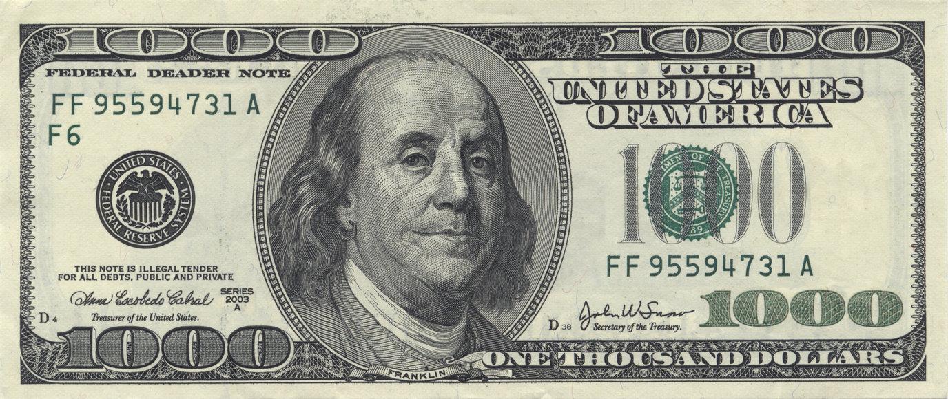 Más falso que billete de 1000 dólares…