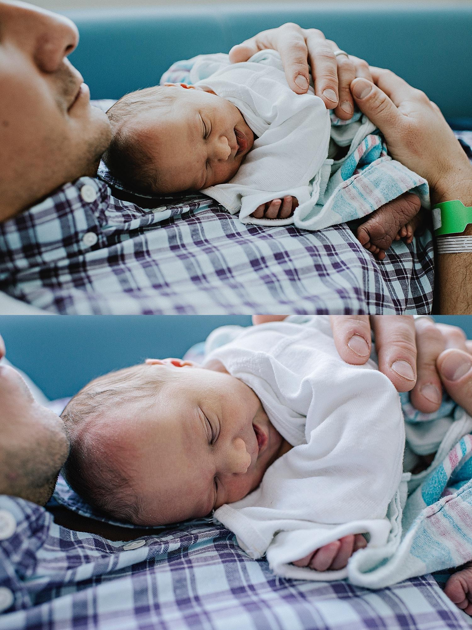 father-baby-newborn-fresh-48-birth-photographer-lauren-grayson-cleveland-ohio-akron