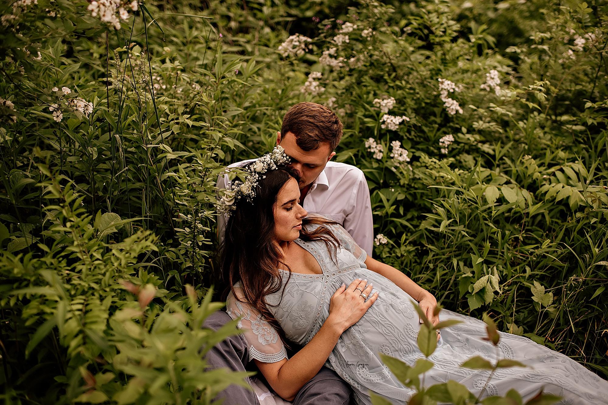 photographer canton ohio, maternity session