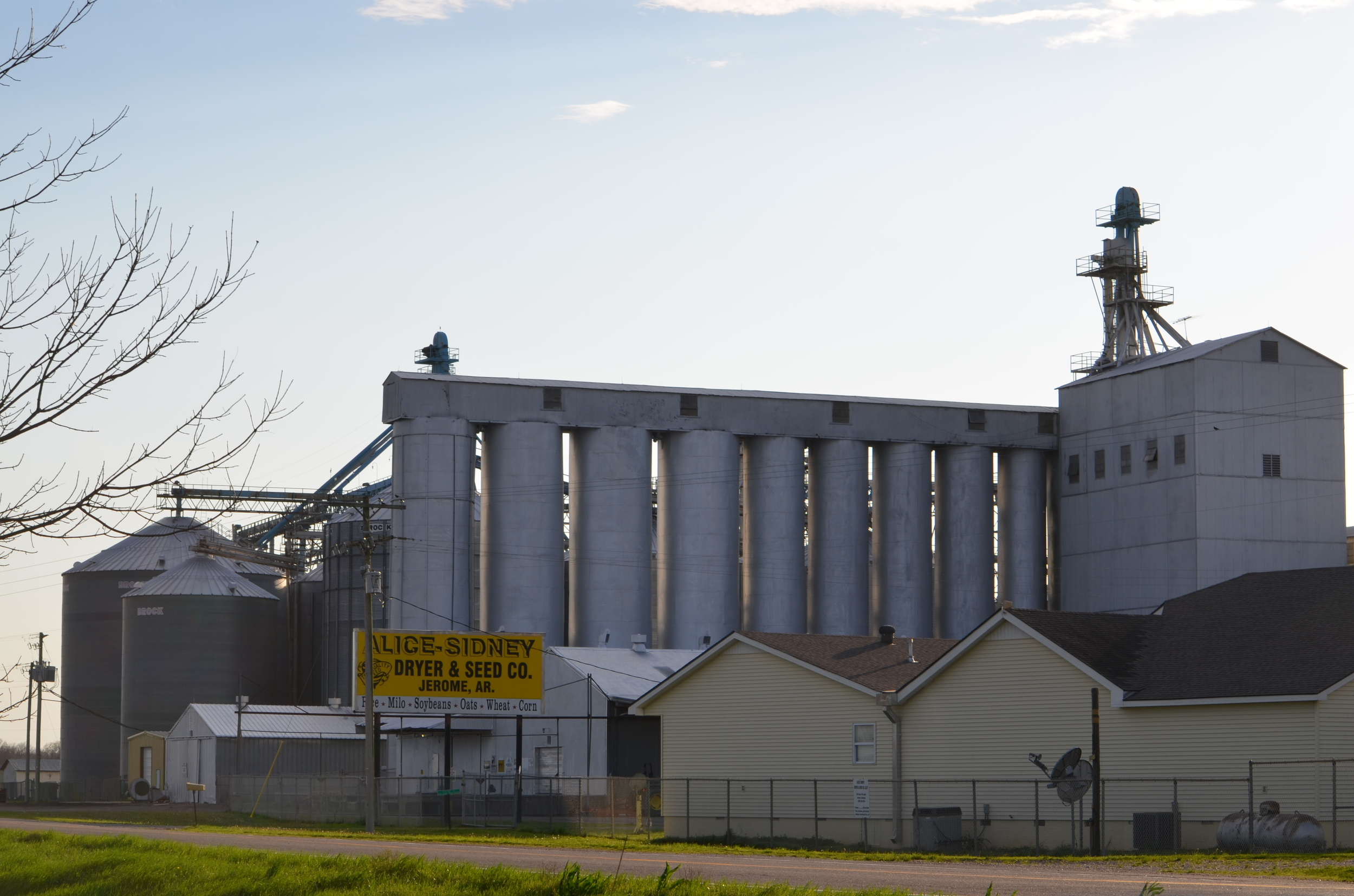 The grain dryer in our area