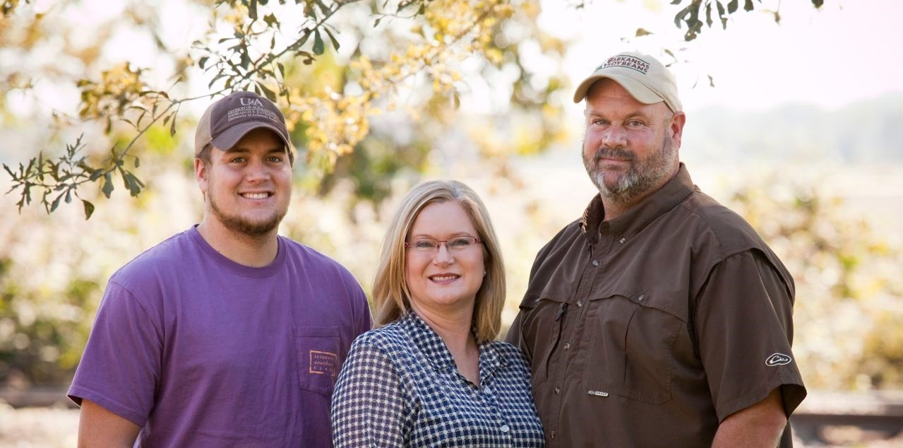 Layne, Sherrie and Matt Miles from Miles Farms