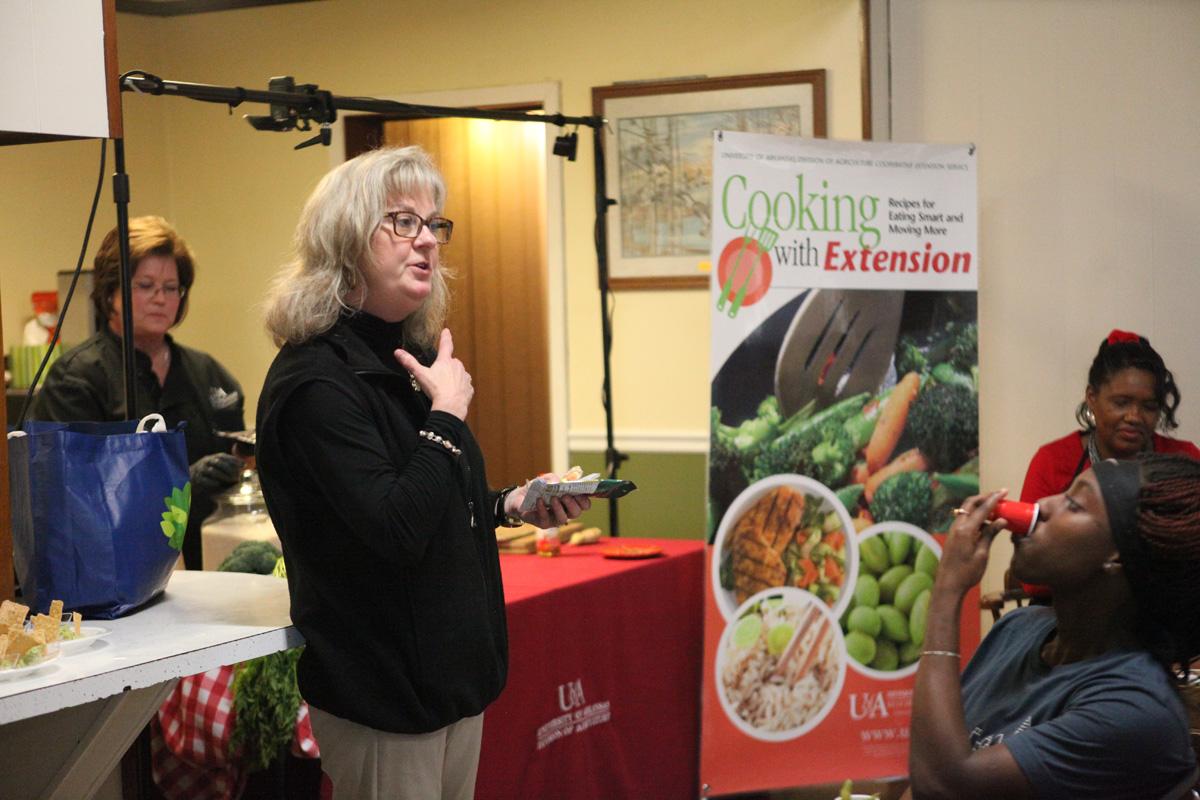 Dr. Karen Ballard with Leigh Ann Bullington in the background