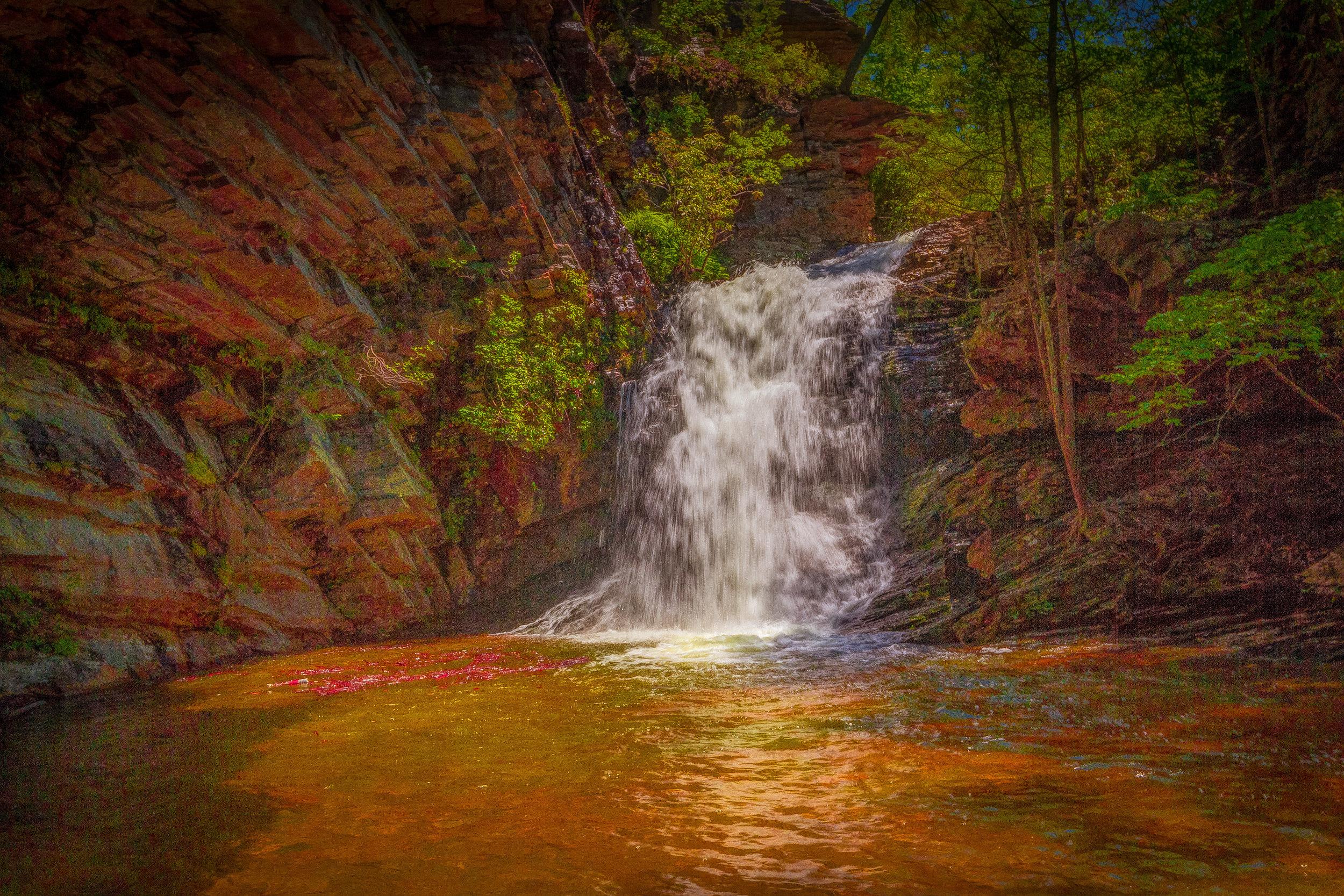 Lower Cascade Falls (After)