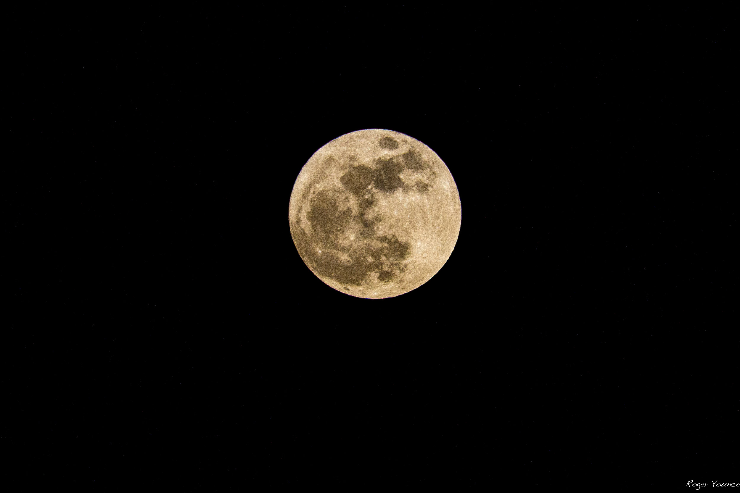 The First Super Moon of 2018