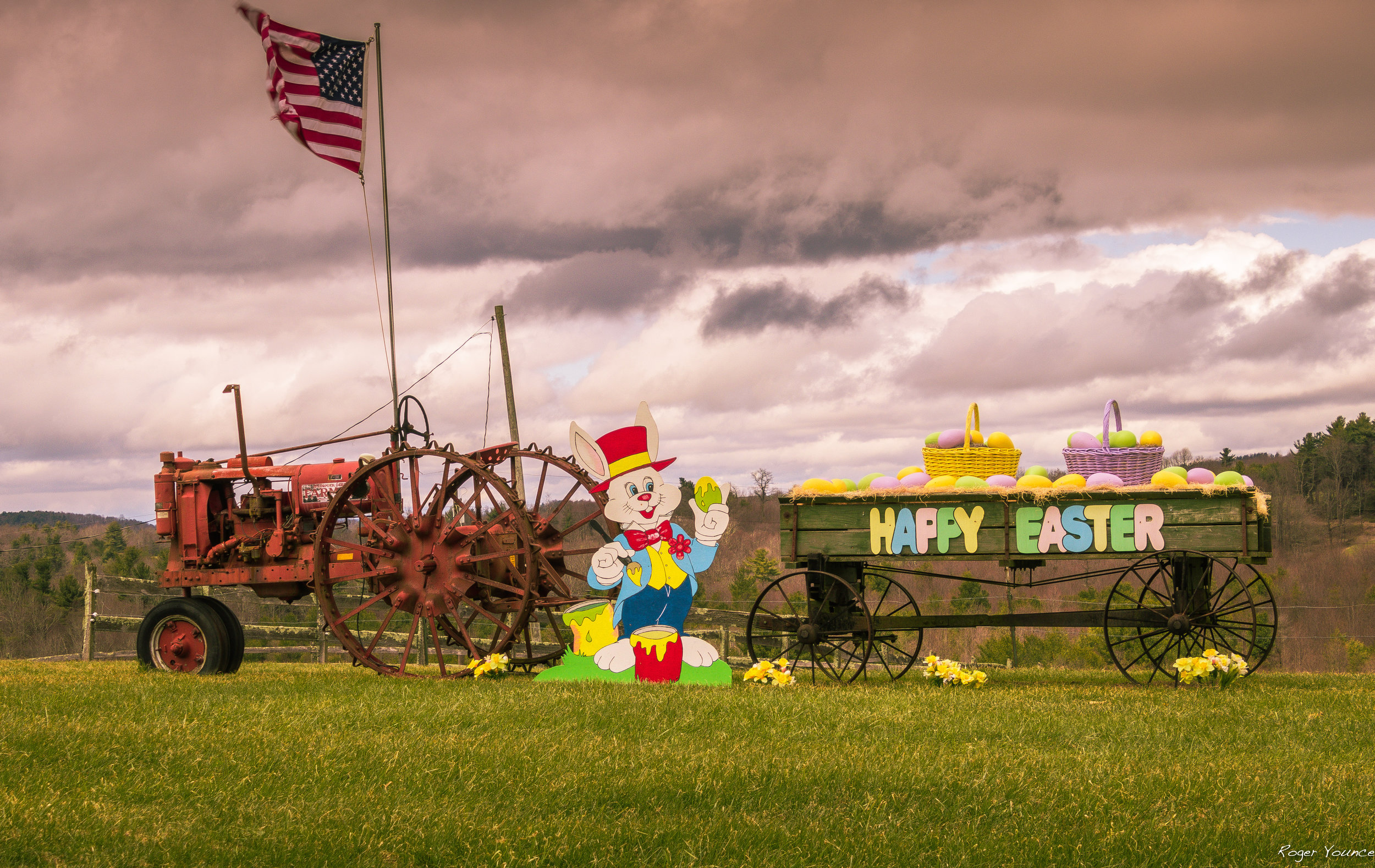 Blue Ridge Parkway Easter Display