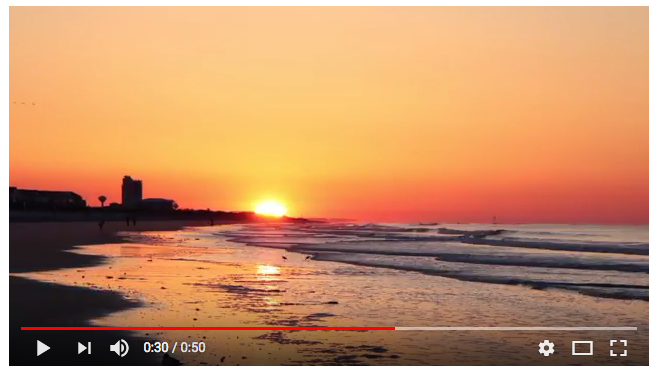 Sunset Beach Sunrise Time-Lapse