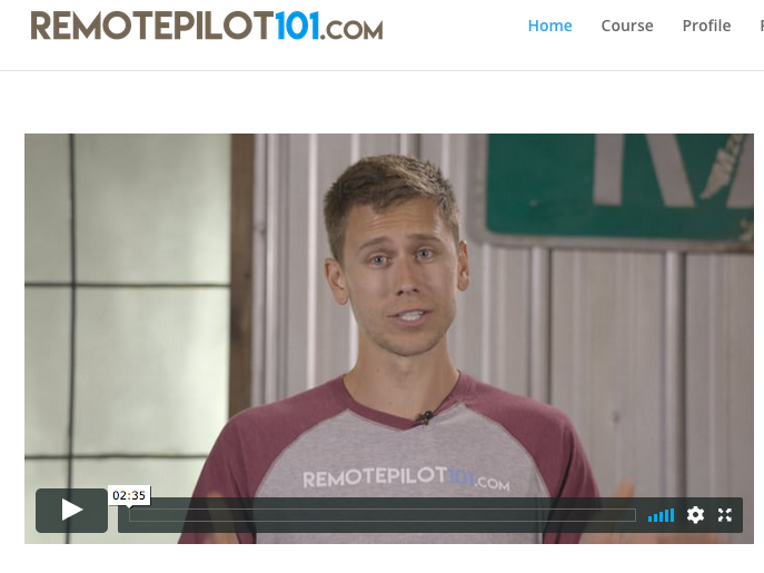 Remote Pilot 101 Course (Not Free)