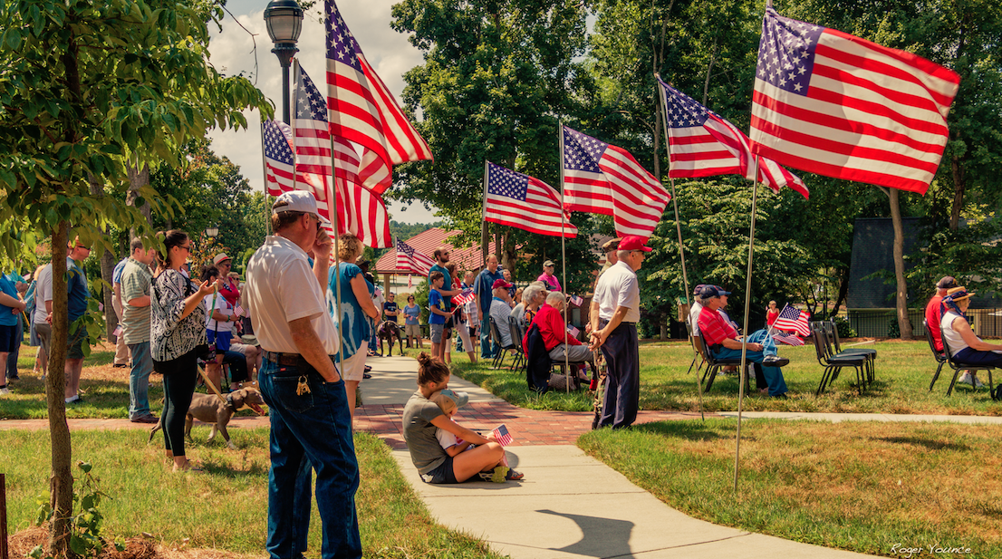 Jamestown-flag-ceremony-northcarolina-event-holidary-memorial-flag-veteran-veterans-crowd-community