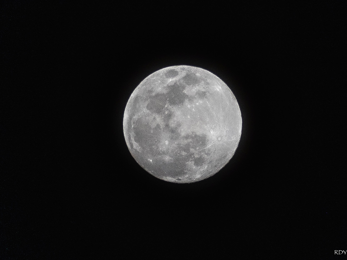 The Super Moon Shot With a Tripod