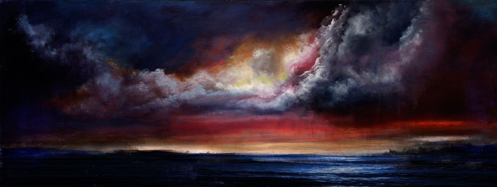Ocean Sunset-Sold