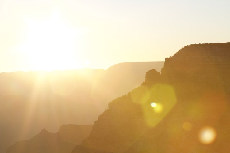 Grand Canyon at Sunrise.  Backyard Studios.