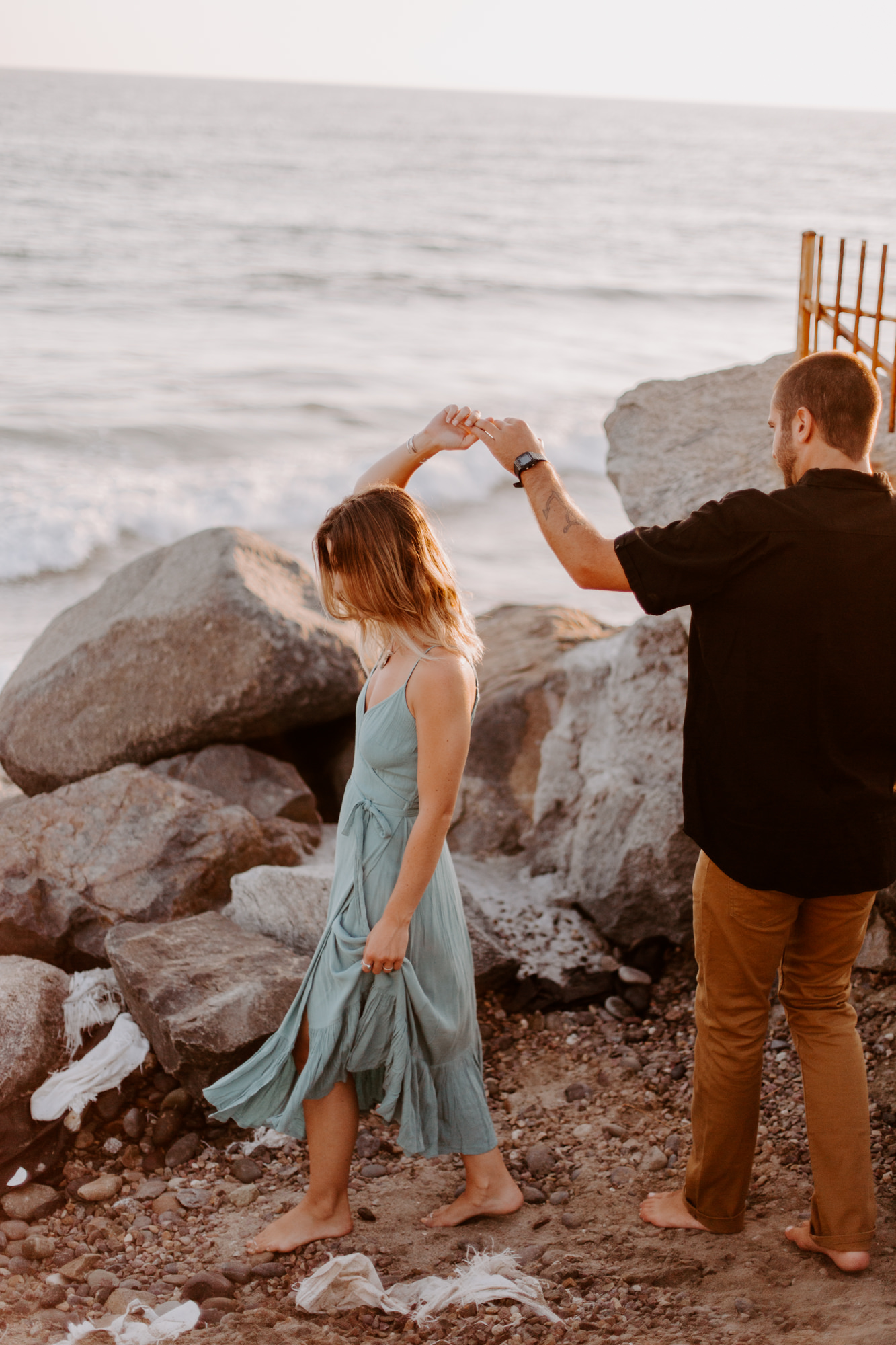 San Diego Engagement photography in home Oceanside Beach024.jpg