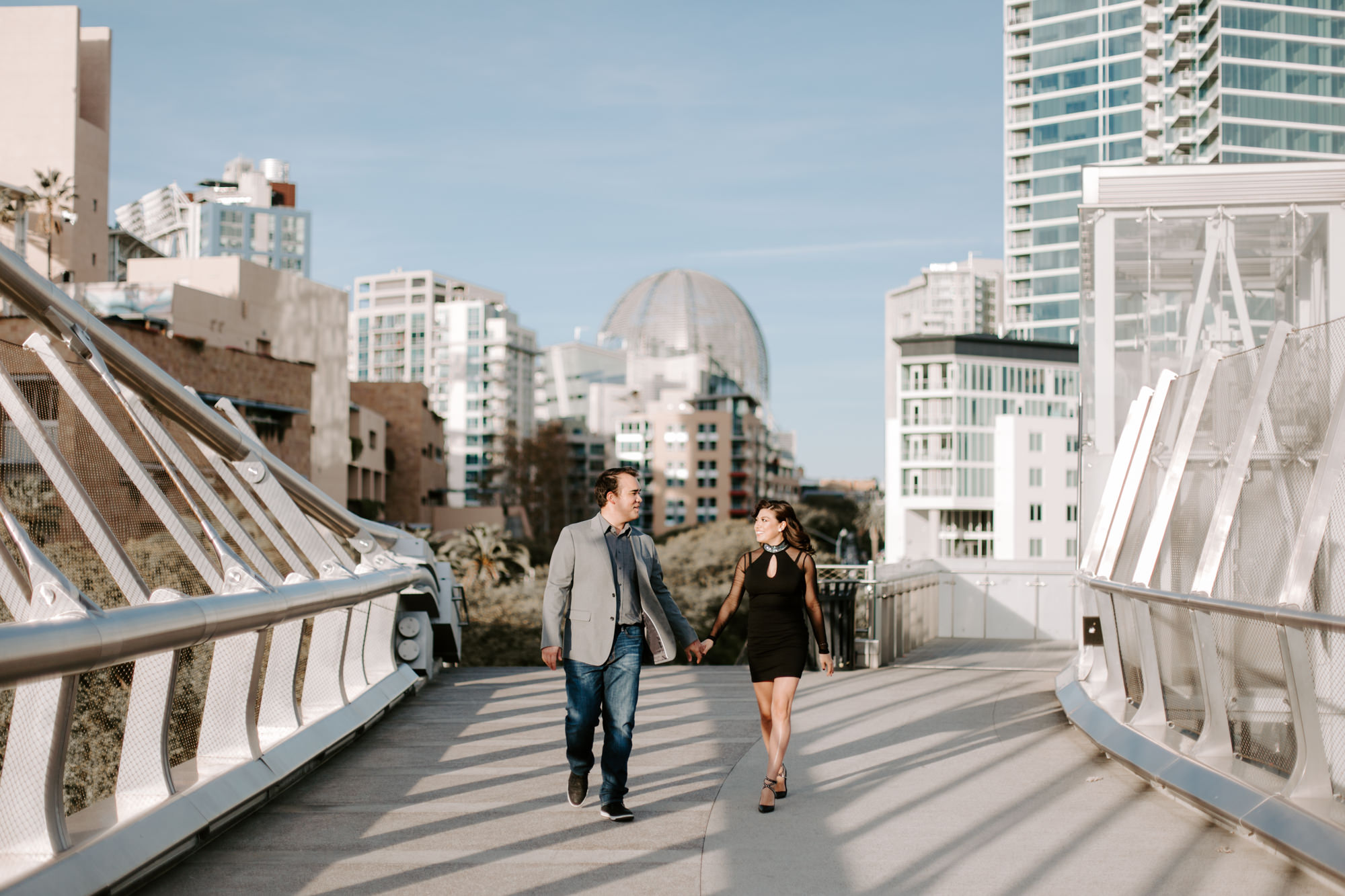 San Diego Engagement photography at Gaslamp District Downtown Urban005.jpg