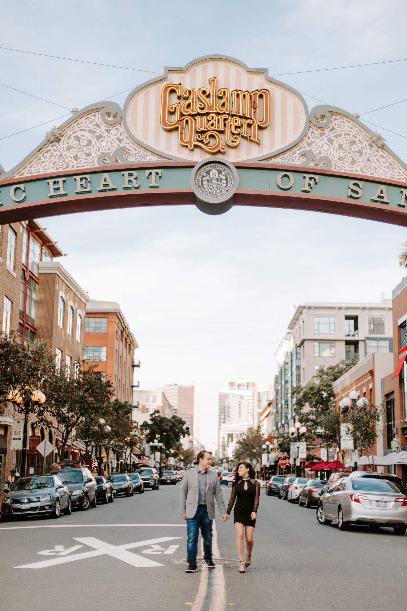 San Diego Engagement photography at Gaslamp District Downtown Urban018.jpg