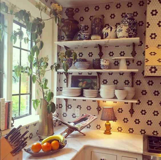 The kitchen of Lily Aldridge and Kings of Leon frontman Caleb Followill that sparked my interest.
