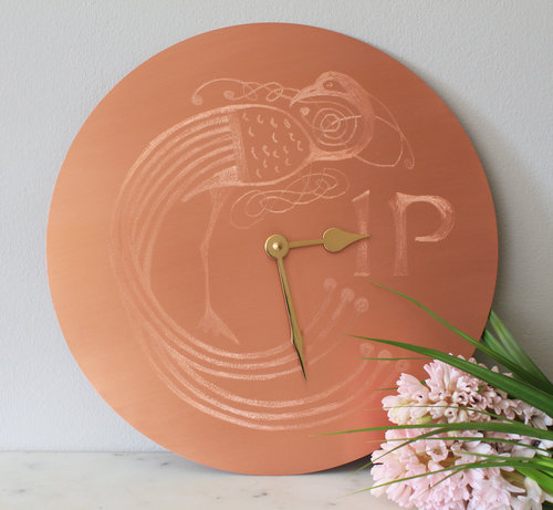 Gilded Hound 'Penney For Your Thoughts'  clock, €189