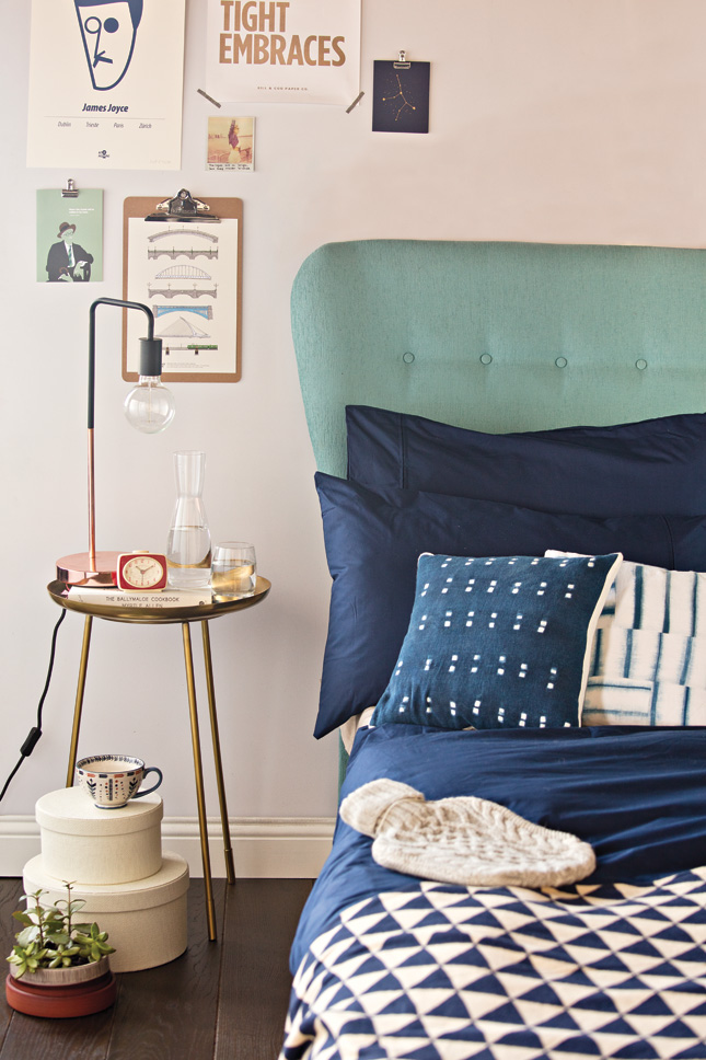 House_and_Home_Louise_Dockery_Paper_and_Moon_bedroom_design_interiors_midcentury_blue_shibori_brass_table_Helen_James_Taylor_Swift.jpg