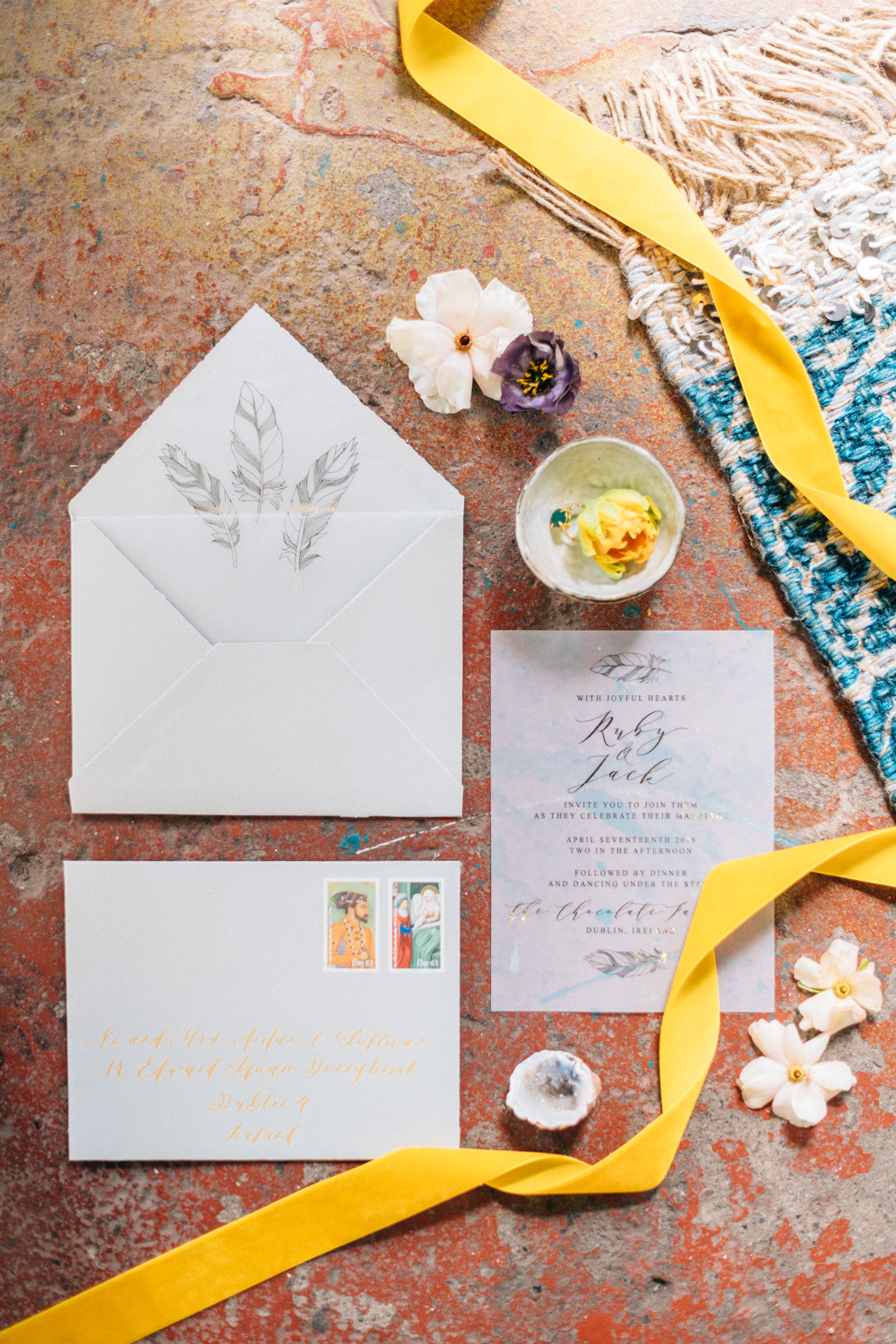 moroccan_floral_boho_vibrant_jewel_tone_nuetral_industrial_wedding_inspiration_Paper_and_Moon_Louise_Dockery_Studio_Brown_Folkster.jpg