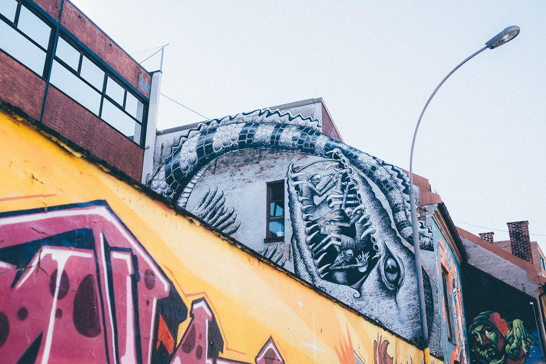 oslo norway street art blå