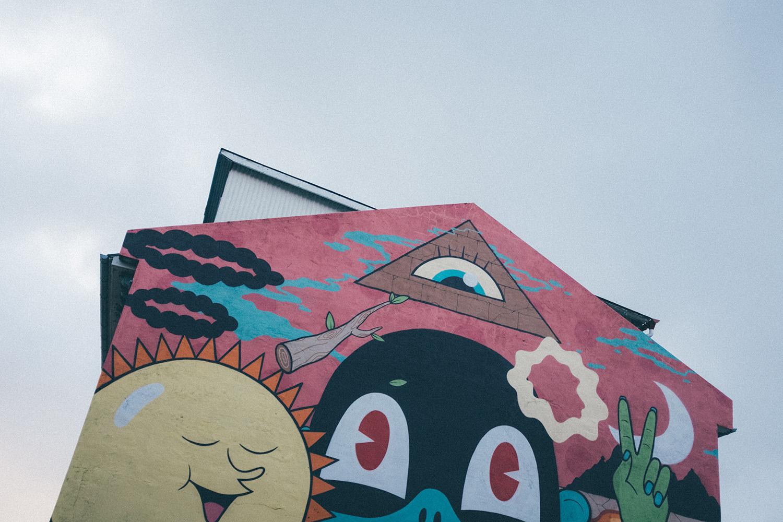 iceland street art mural island reykjavik