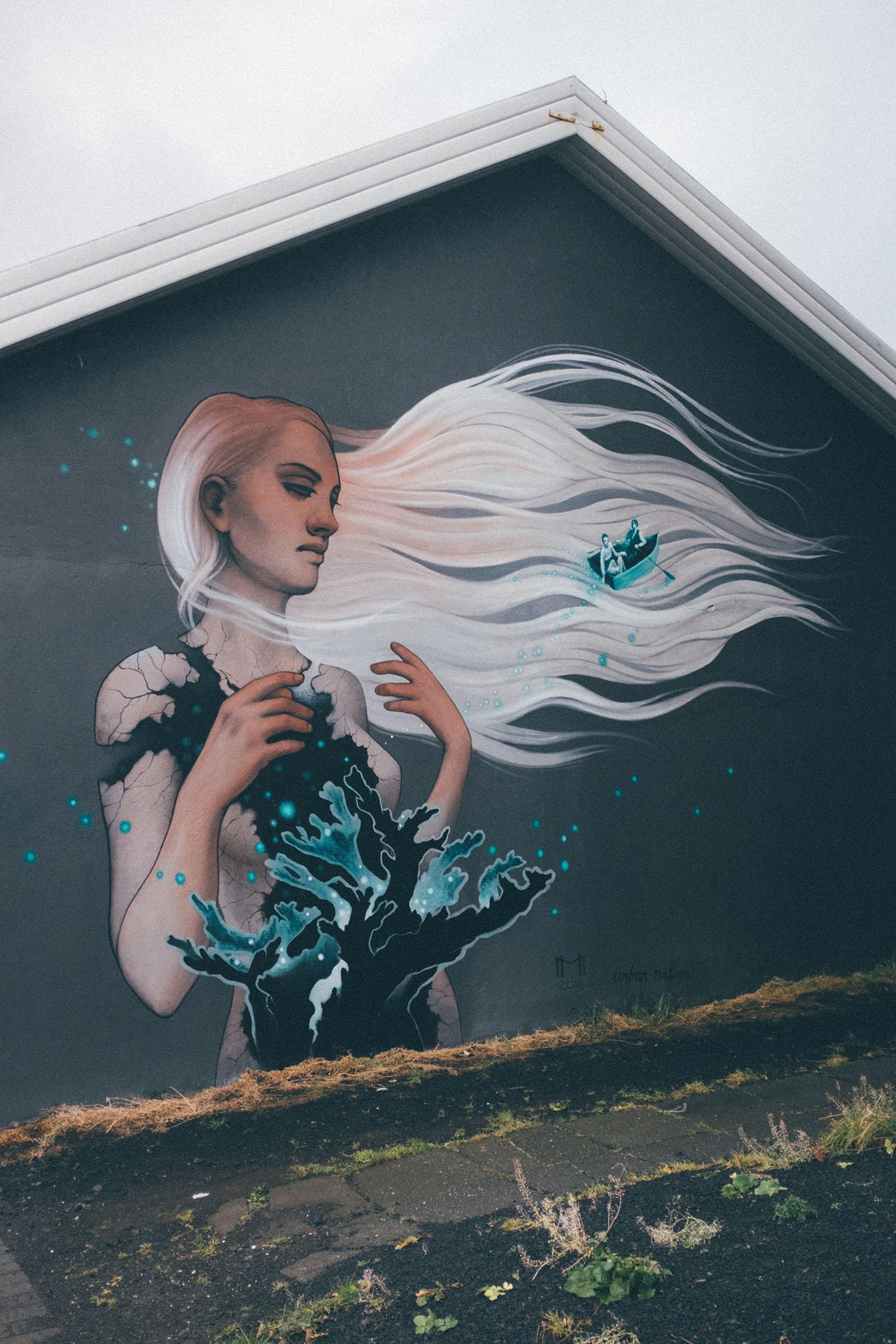 iceland street art reykjavik mural