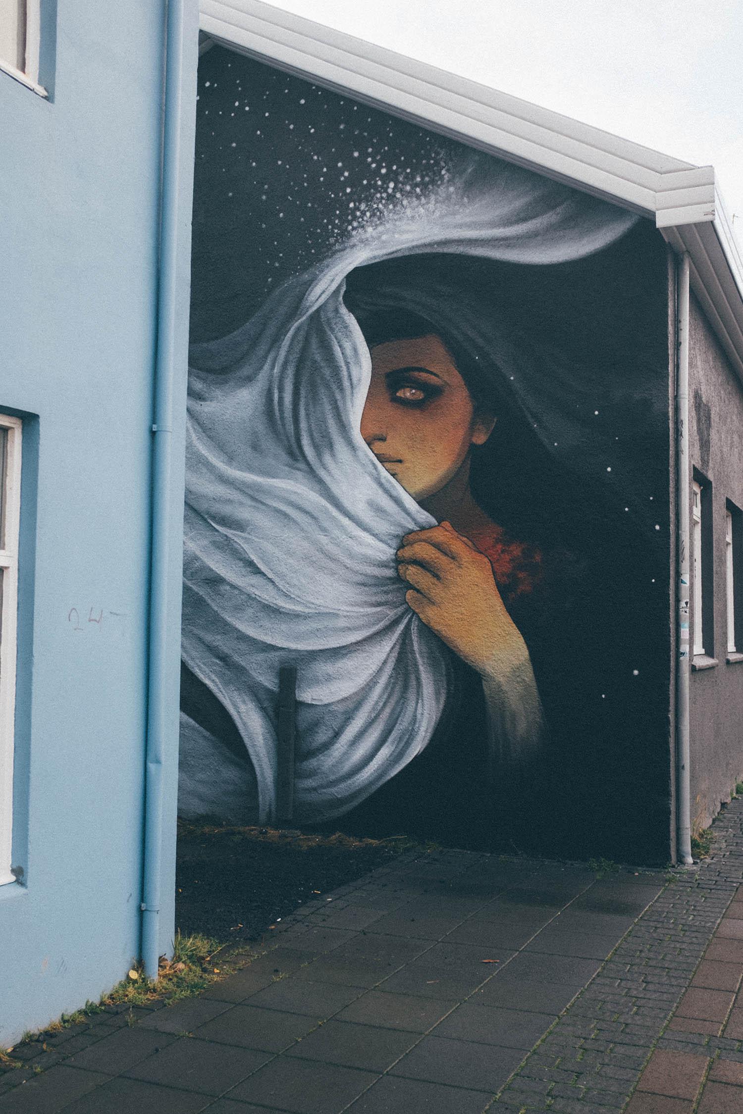 travel reykjavik iceland blog street art mural