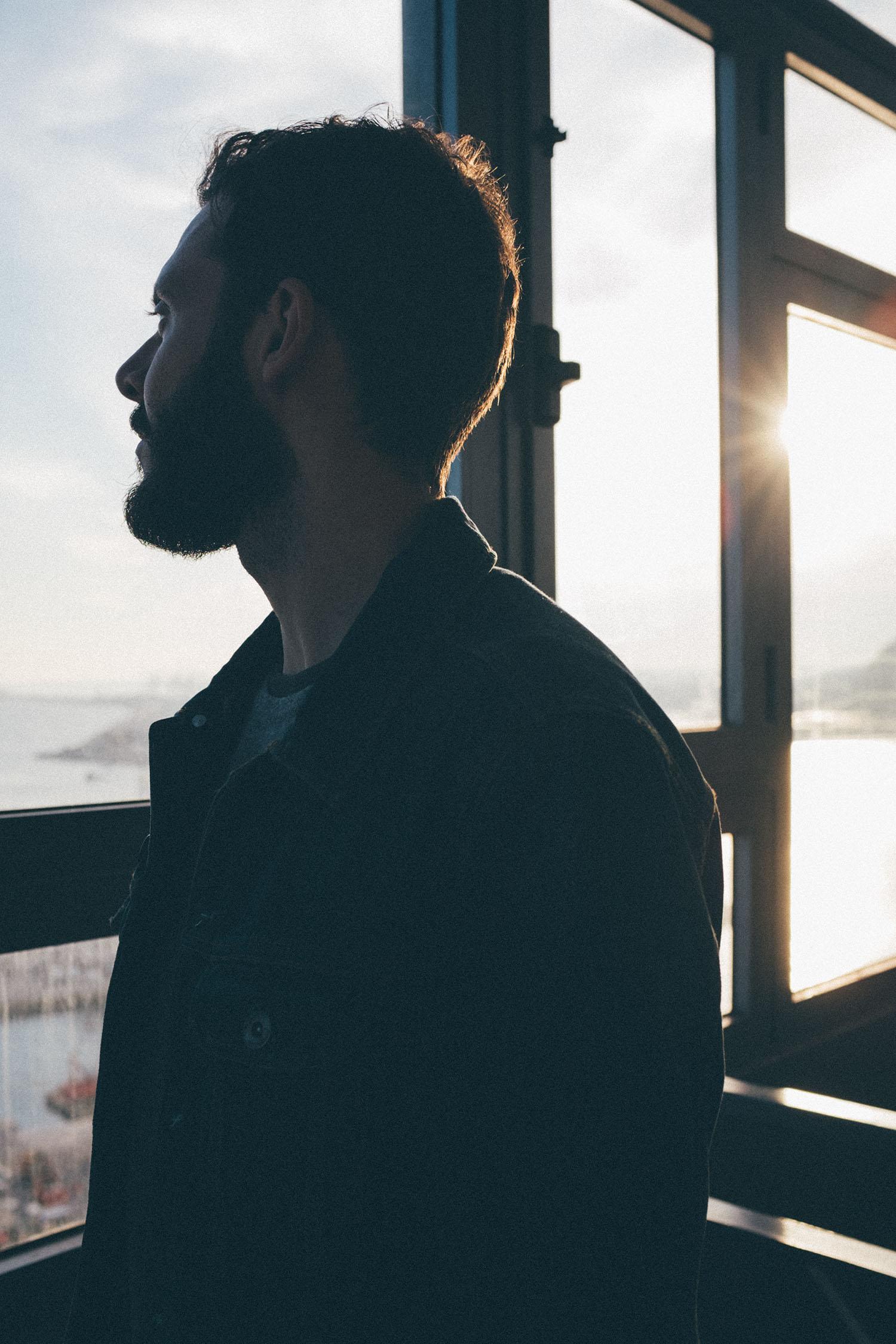 portratit sunset