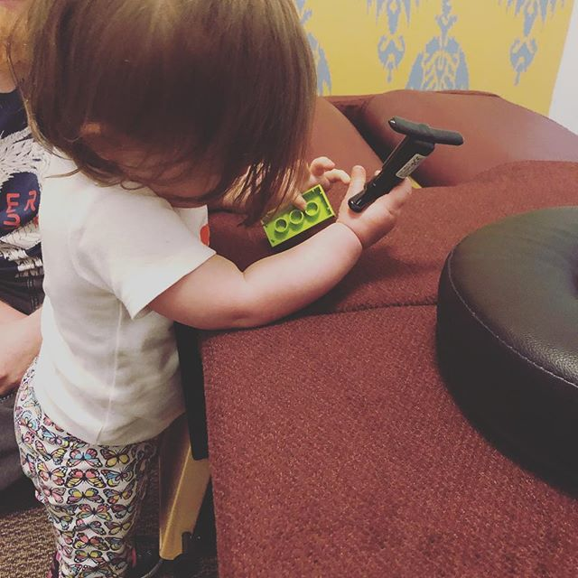 Just another Wednesday.... adjusting legos with an activator🤷🏻‍♀️🥰😂. . These little munchkins are always watching & learning from us...So why not teach them the importance of a connected, healthy body & preventative care from a young age ♥️. . What example are you setting today for the younger generation around you? ✨ . . . . . . #chiropractor #chiropracticadjustment #pediatricchiropractic #pedschiro #birthfitbaby #birthfit #webstertechnique #icpa4kids #birthfitprofessional #healthykids #happybaby #glendale #silverlake